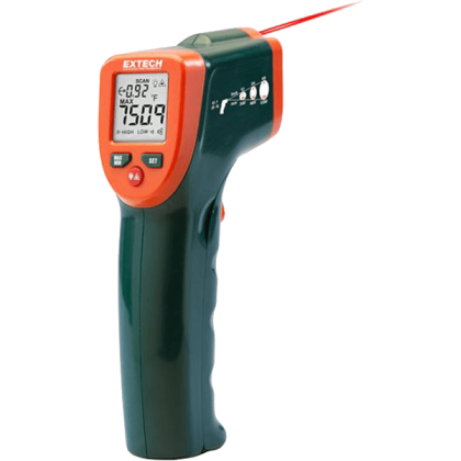 Extech IR270 IR Thermometer with Color Alert